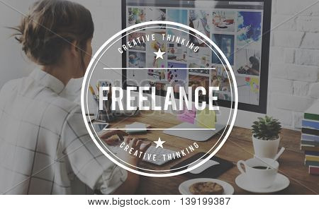 Freelancer Freelance Contract Career Work Talent Employee Concept