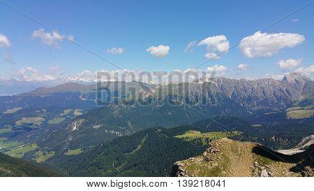 Panorama delle Dolomiti - Trentino Alto Adige - Italia