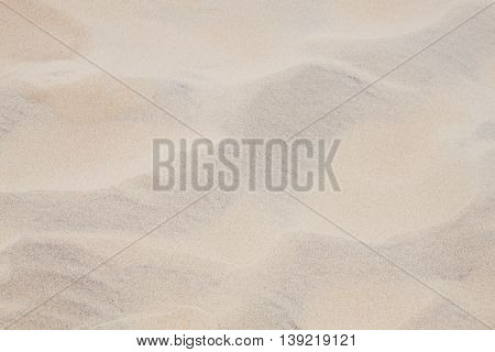 Background Sand Of A Beach After The Wind Pass By