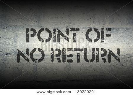 Point Of No Return Gr