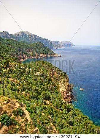 Northwest Coast Of Majorca, Sierra De Tramuntana, Coastline