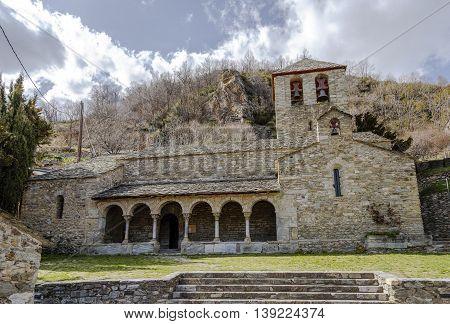 Romanesque Parish Church of Sant Jaume de Queralbs SXII Catalonia Spain