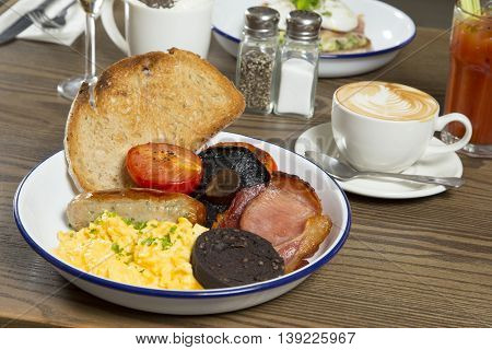 Good Morning,full English Breakfast