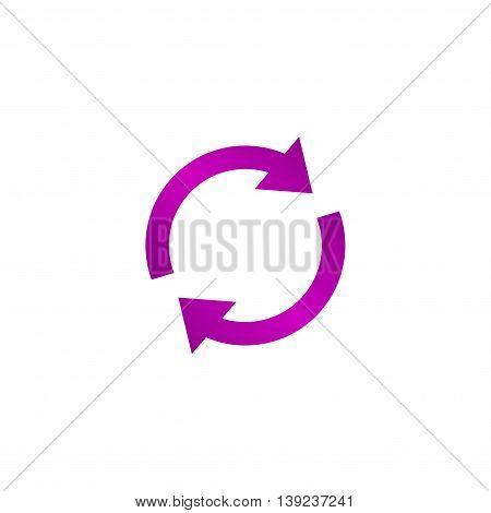 Update Icon. Vector Illustration
