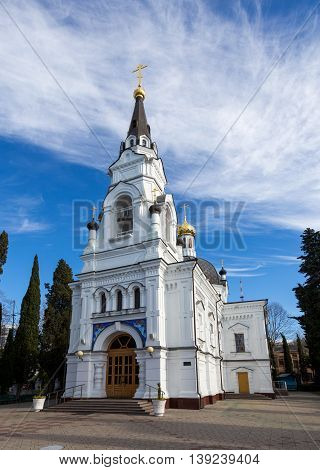 The Cathedral of St. Michael the Archangel is the oldest Orthodox church in Sochi and the entire Black Sea Oblast