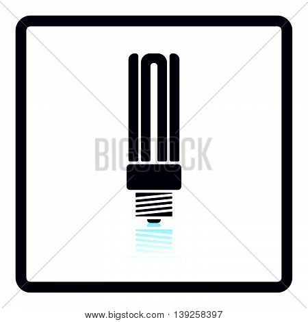 Energy Saving Light Bulb Icon
