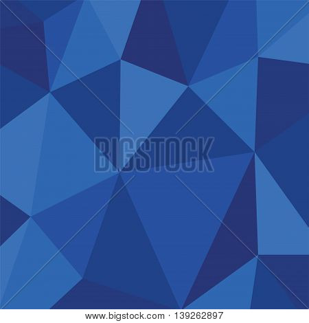 Light connection structure. Polygonal dark blue vector illustrtion background