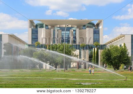 The German Chancellery ( Bundeskanzleramt) In Berlin