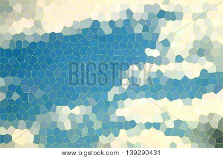 Stained glass texture background ,Abstract illustration pattern