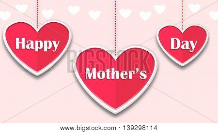 happy mother's day card for you design
