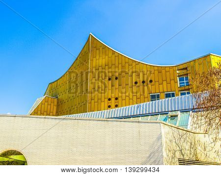 Berliner Philharmonie In Berlin Hdr