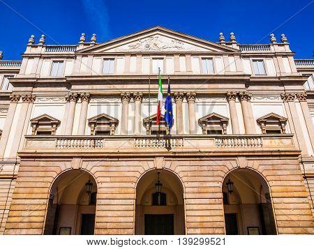 Teatro Alla Scala Milan Hdr