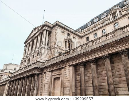 Bank Of England Hdr