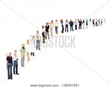 People Order Perspective Concept