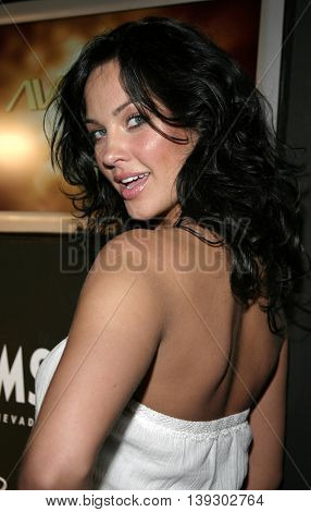 Tiffany Fallon at Christian Audigier Fashion Show featuring new Ed Hardy label held in Hollywood, USA on May 21, 2005.