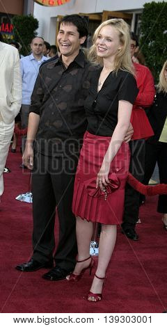 Thora Birch at the Los Angeles premiere of 'Cinderella Man' held at the Gibson Amphitheatre at Universal City in Hollywood, USA on May 23, 2005.