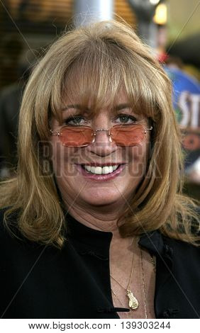 Penny Marshall at the Los Angeles premiere of 'Cinderella Man' held at the Gibson Amphitheatre at Universal City in Hollywood, USA on May 23, 2005.