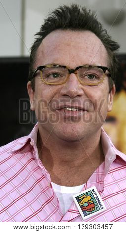 Tom Arnold at the Los Angeles premiere of 'Cinderella Man' held at the Gibson Amphitheatre at Universal City in Hollywood, USA on May 23, 2005.