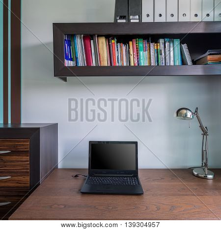 Modern And Stylish Study Room