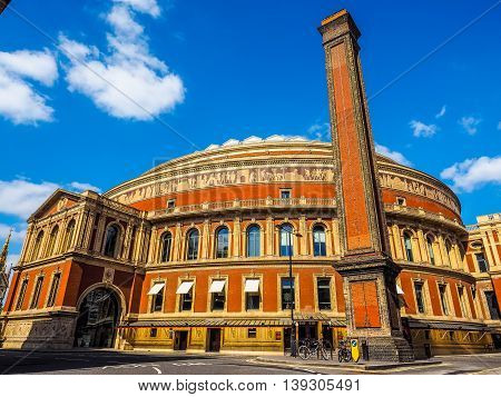 Royal Albert Hall In London Hdr