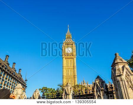 Big Ben Hdr