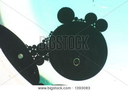 Black Oil In Water