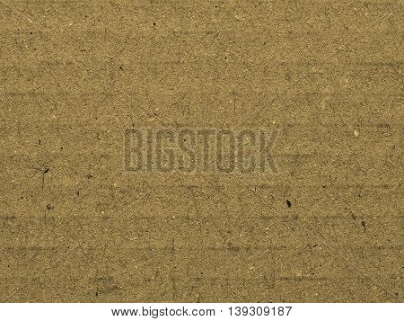 Corrugated Cardboard Background Sepia