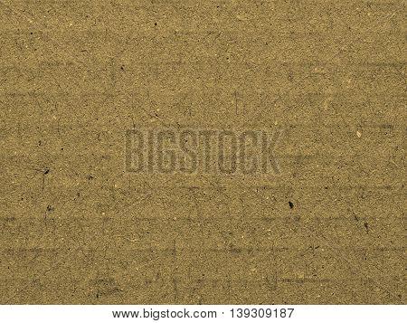 Corrugated Cardboard Background Sepia
