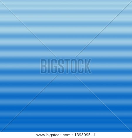 Blue corrugated surface abstract background - wavy background