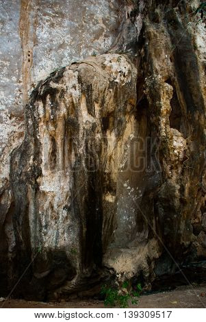 The Cave On The Railay Peninsula. Krabi, Thailand.