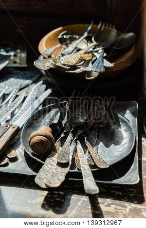 vintage forks and spoons