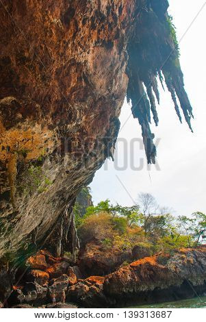 Phra Nang Cave. Peninsula Of Railay. Krabi, Thailand.
