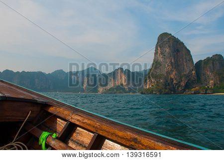 Islands. Rock. Krabi, Thailand.