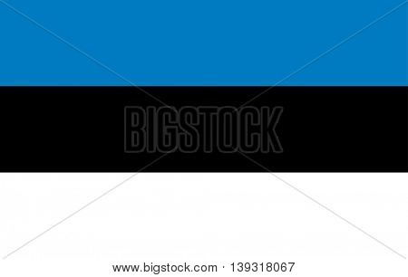 Vector Republic of Estonia flag