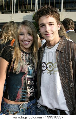 Ashley Edner and Bobby Edner at the Los Angeles premiere of 'Sisterhood of the Traveling Pants' heldat the Grauman's Chinese Theatre in Hollywood, USA on May 31, 2005.