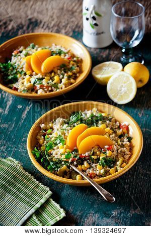 Refreshing Summer Bulgur Salad