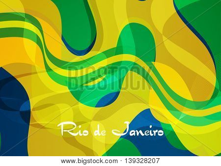 Abstract concept wavy pattern background. Vector graphic design