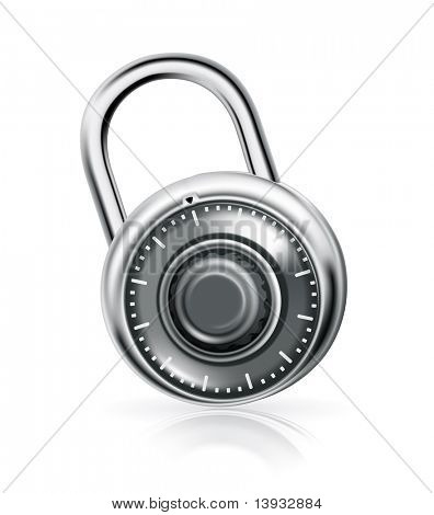 Combination lock, vector