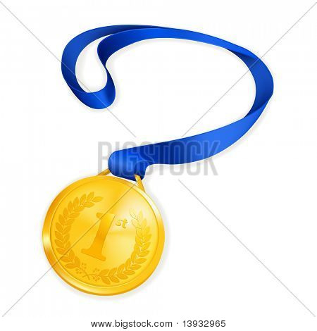 Gold Medal, vector