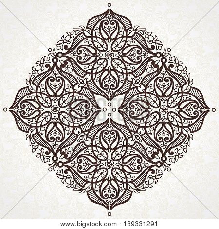 Vector Pattern In Eastern Style.