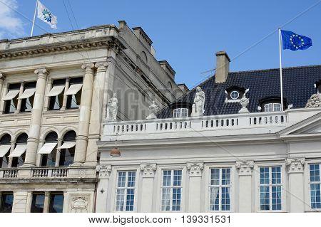 The French embassy in Copenhagen, Denmark, Europe