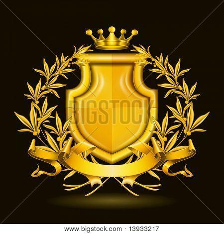 Coat of arms, mesh
