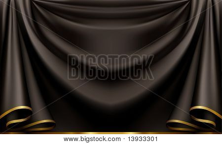 Luxury black background