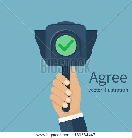 Agree Concept Vector