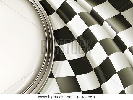 Vector Checkered Background