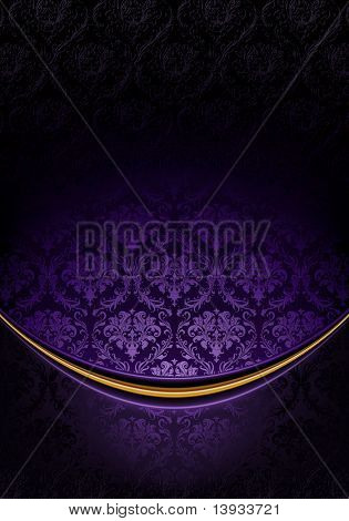 Blue Luxury Background, vector