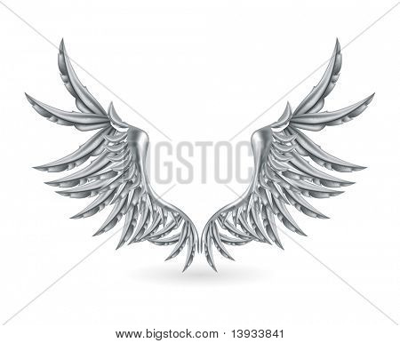 Silver Wings, vector