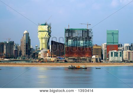 Constructions Of New Casinos In Macau