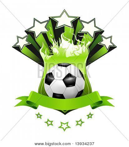 Soccer Emblem, vector