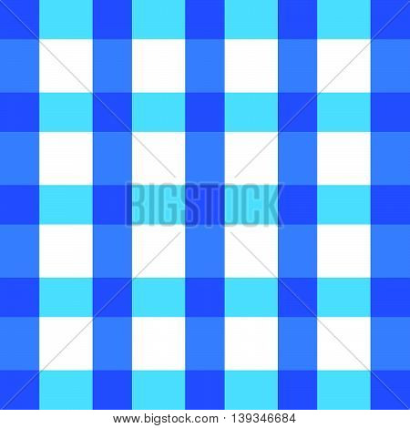 Tablecloth Blue In Color Cotton Classic Illustration